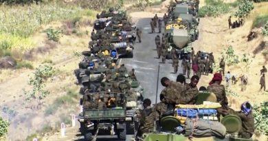 """إثيوبيا تعلن الإنتصار مع تجدد القصف الصاروخي على """"أسمرة"""""""