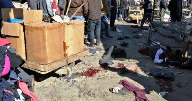 32 قتيلا و110 جرحى في تفجيرين انتحاريين في وسط بغداد
