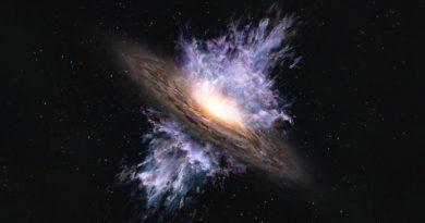 من خلف ثقب أسود عملاق.. مفاجأة تثبت نظرية آينشتاين